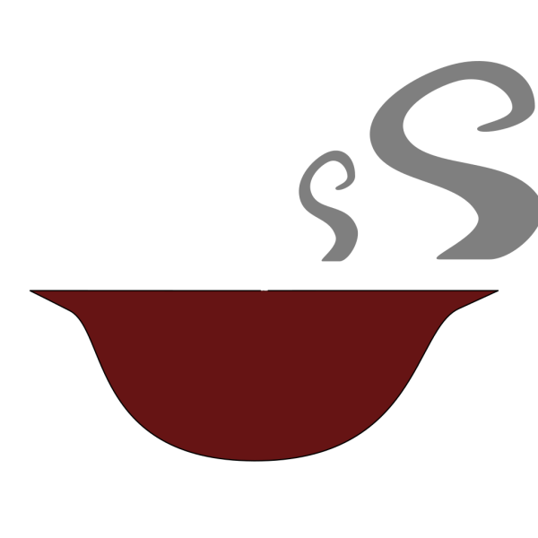 Soup Bowl With Steam PNG Clip art