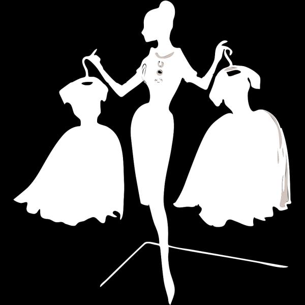 White Dress PNG Clip art