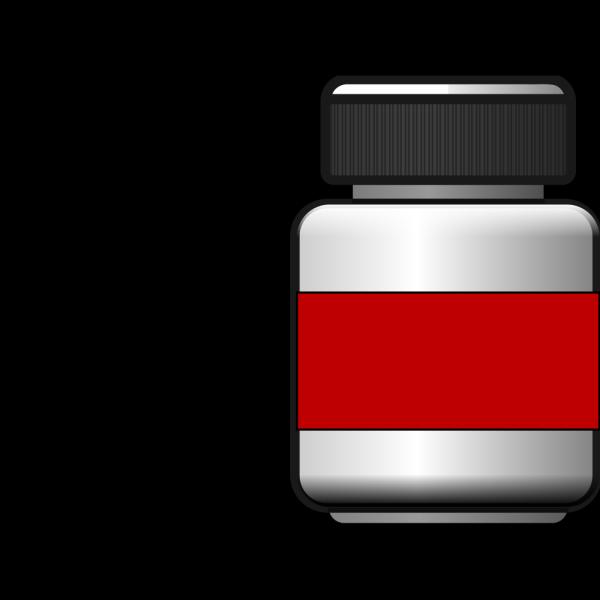Blank Pill Bottle PNG Clip art