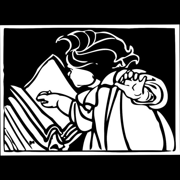 Book Reading PNG Clip art