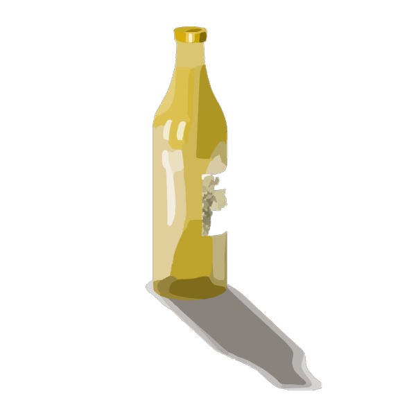 Glass Of White Wine PNG Clip art