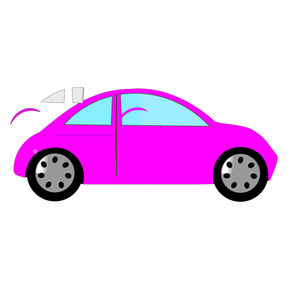 Pink Cartoon Flower PNG Clip art