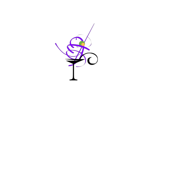Purplemartini PNG Clip art