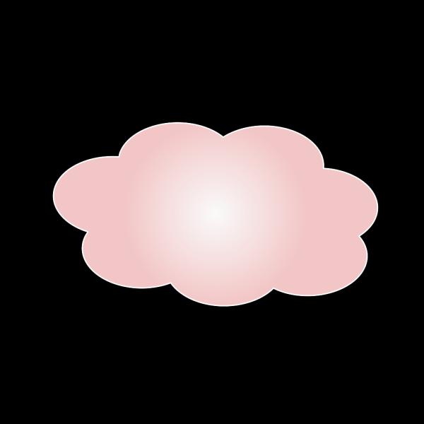 Light Pink Clouds PNG Clip art