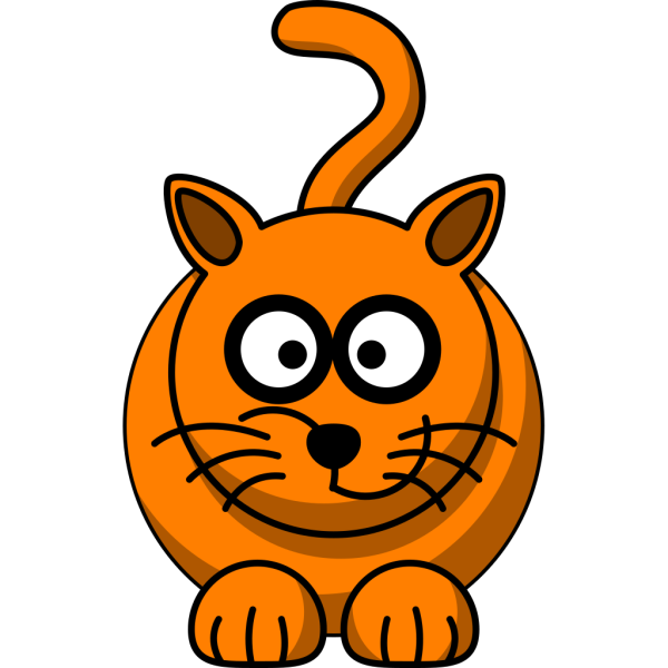 Ginger Cat PNG Clip art