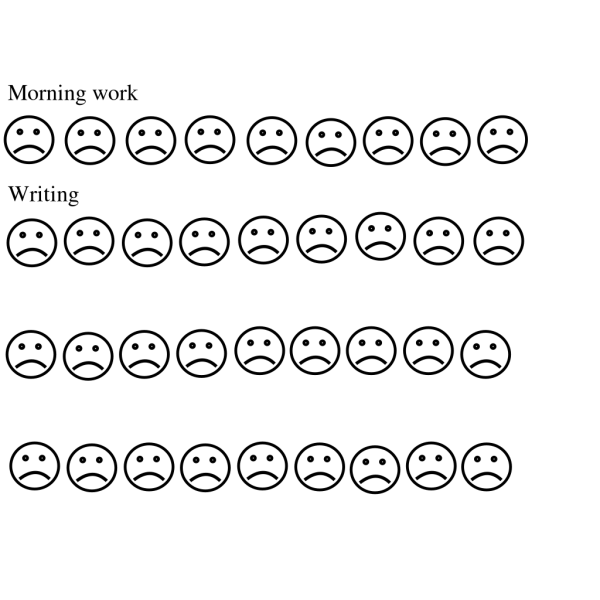 Black And White Sad Face PNG Clip art