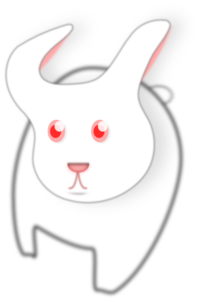 Black And White Bunny PNG Clip art