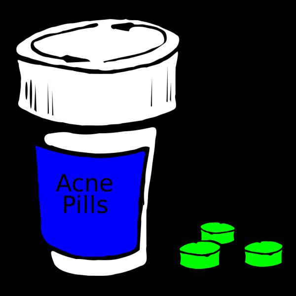 Acne Pills PNG Clip art