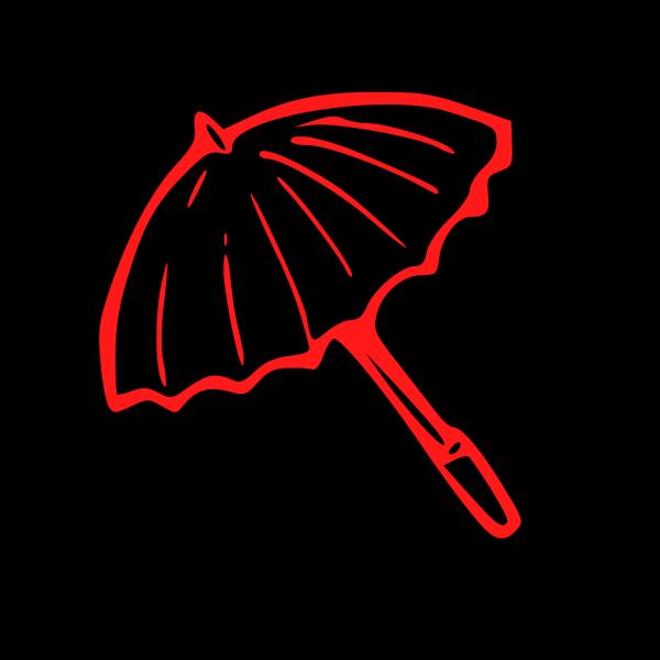 Red Umbrella PNG Clip art