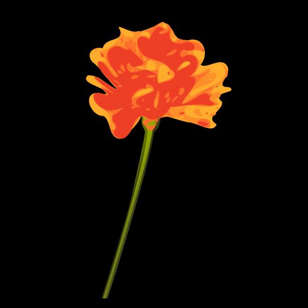 Orange Flower PNG Clip art
