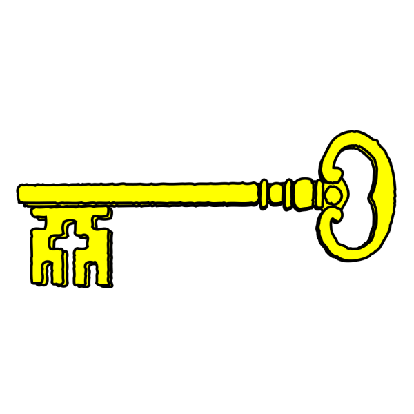 Jail House Key PNG Clip art