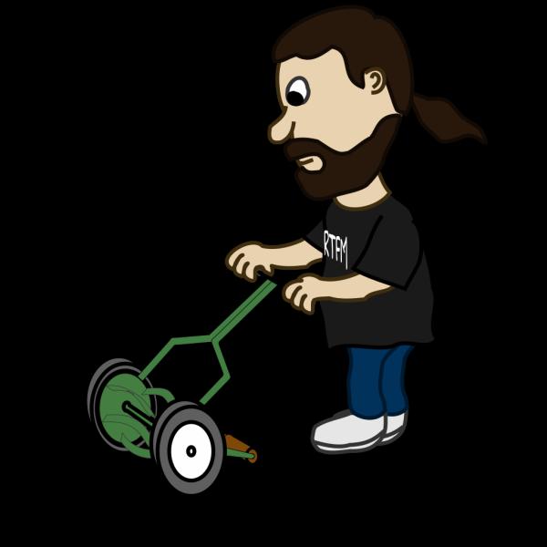 Pushing Lawn Mower PNG images