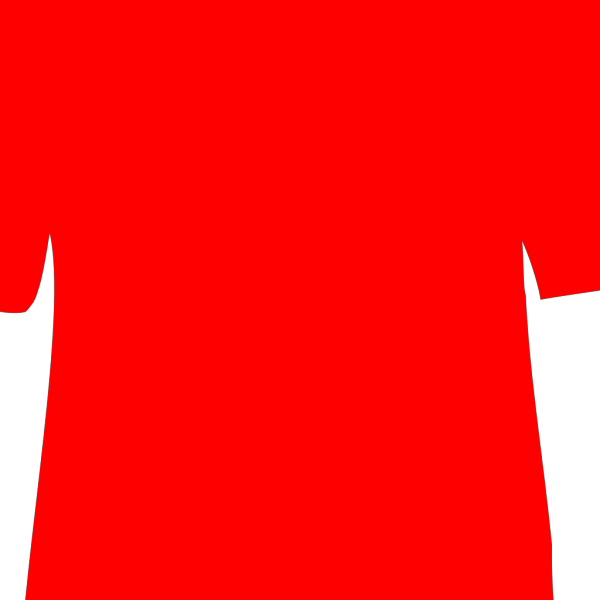 Red T-shirt PNG Clip art