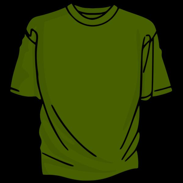 Green 2 T-shirt PNG Clip art