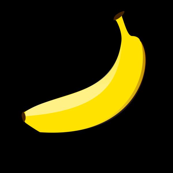 Banana Logo3 PNG Clip art