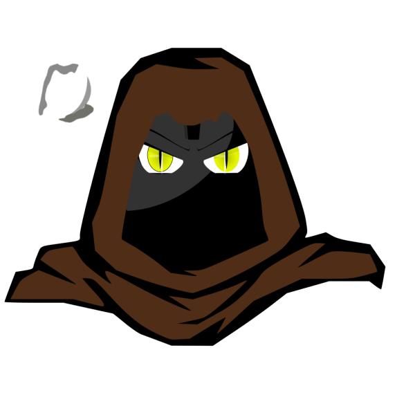 Hooded Cartoon Character 2 PNG Clip art