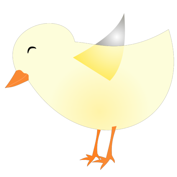 New Spring Chick PNG Clip art