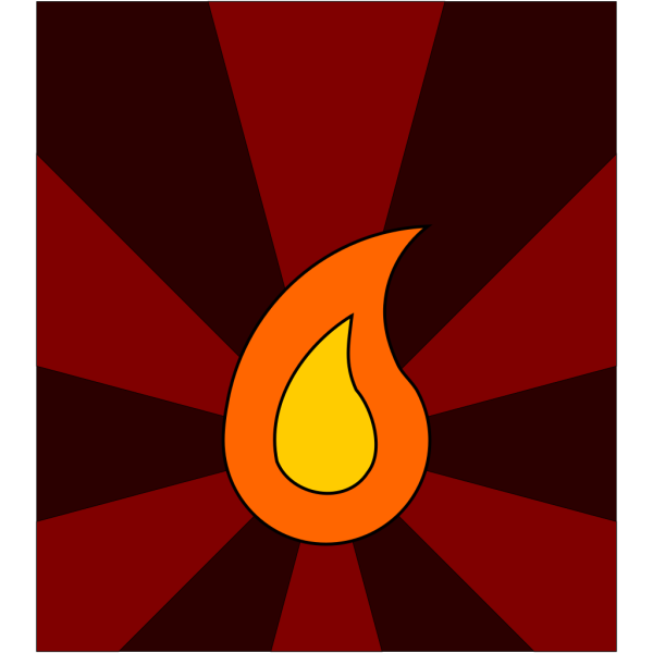 Flame 12 PNG Clip art