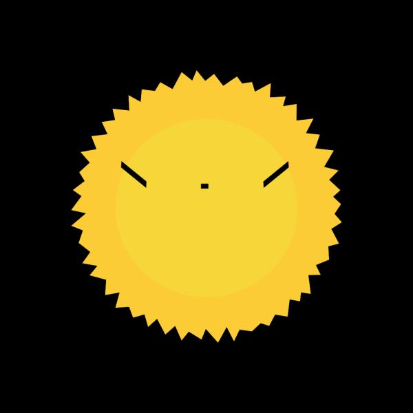 Cool Sun PNG Clip art