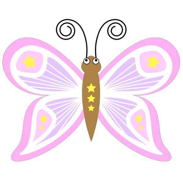 Butterfly Cartoon PNG Clip art