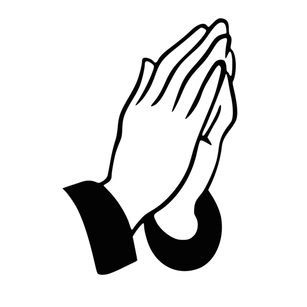 Praying Hands Rt PNG Clip art