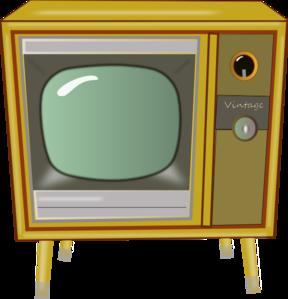 Vintage Tv PNG Clip art