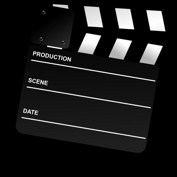 Movie Clapper Board PNG Clip art