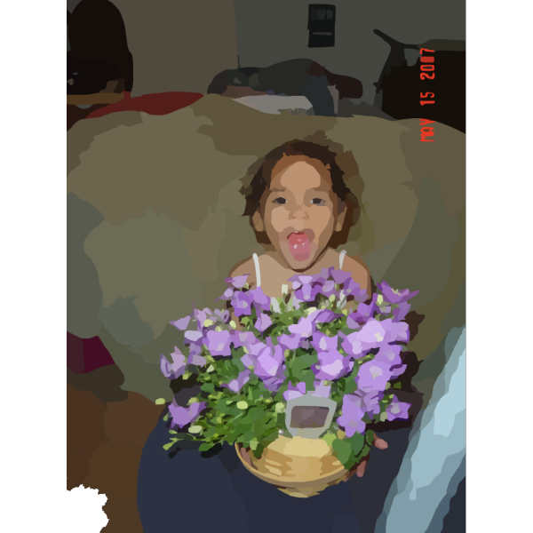 Smiling Girl PNG Clip art