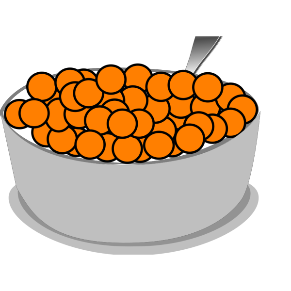 Bowl+spoon+cereal PNG Clip art