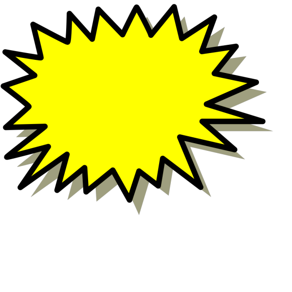Yellow Explosion PNG Clip art