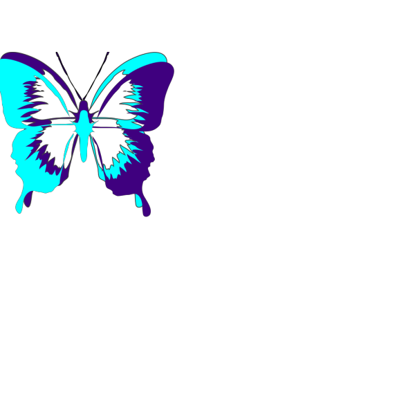 Black Butterfly PNG Clip art