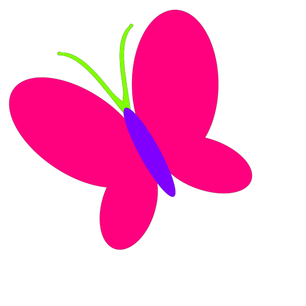 Flying Butterfly PNG Clip art