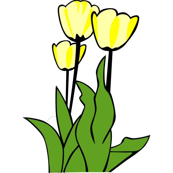 Yellow Flower PNG clipart