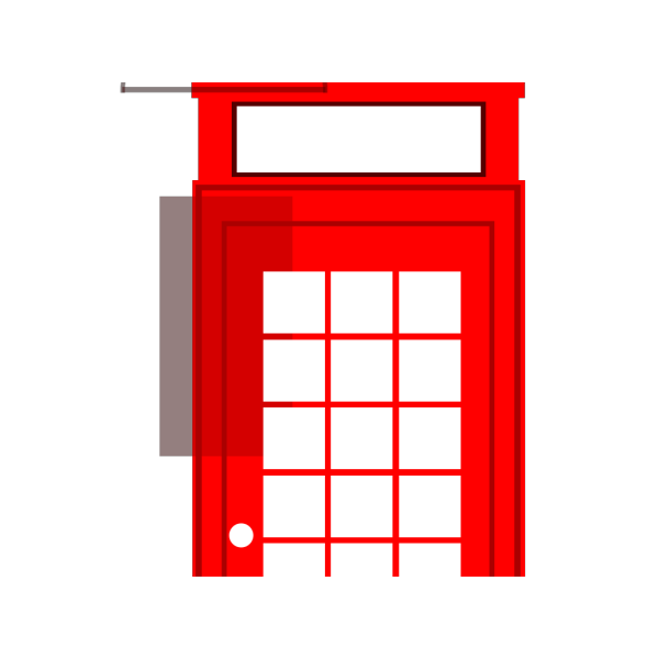 British Phone Booth PNG images