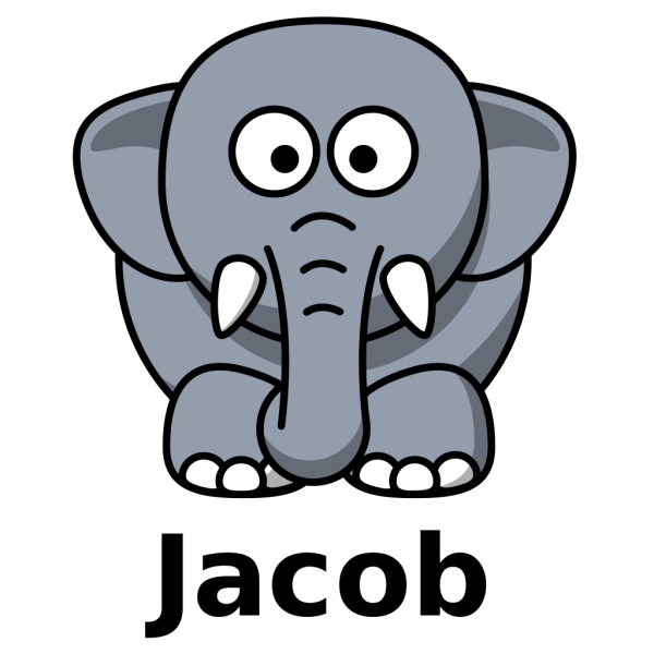 Jacob The Elephant PNG images