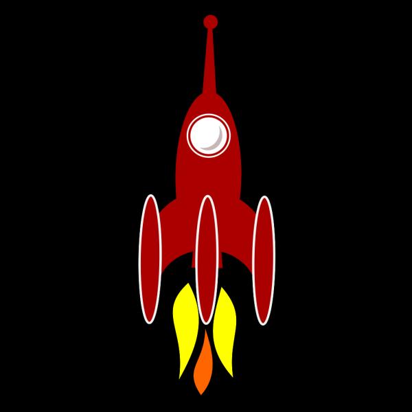 3 Booster Rocket PNG Clip art
