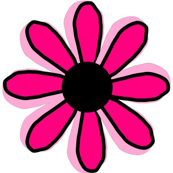 Pink Flower 4 PNG Clip art