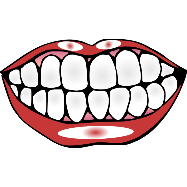 Mouth And Teeth PNG Clip art