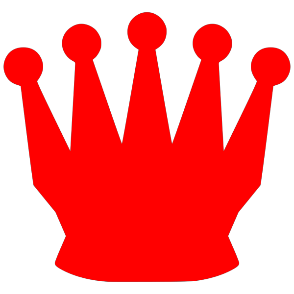 Red Crown PNG Clip art