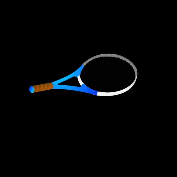 Horizontal Tennis Racquet PNG Clip art