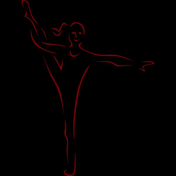 Dancer Silhouettes PNG Clip art