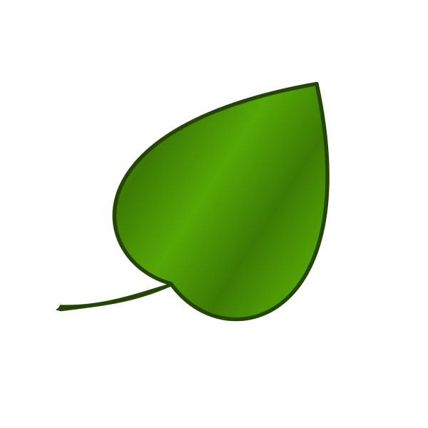 Simple Leaf PNG Clip art
