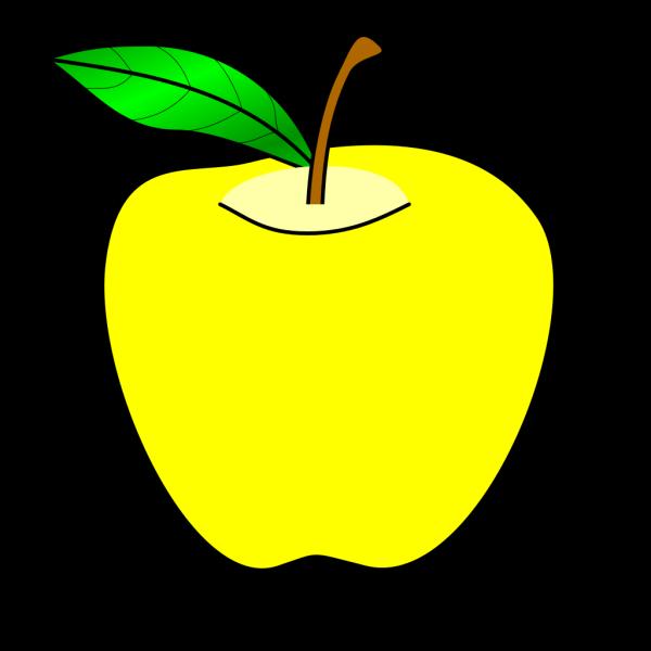 Yellow Apple PNG Clip art