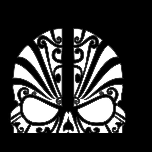 Skull Art PNG Clip art
