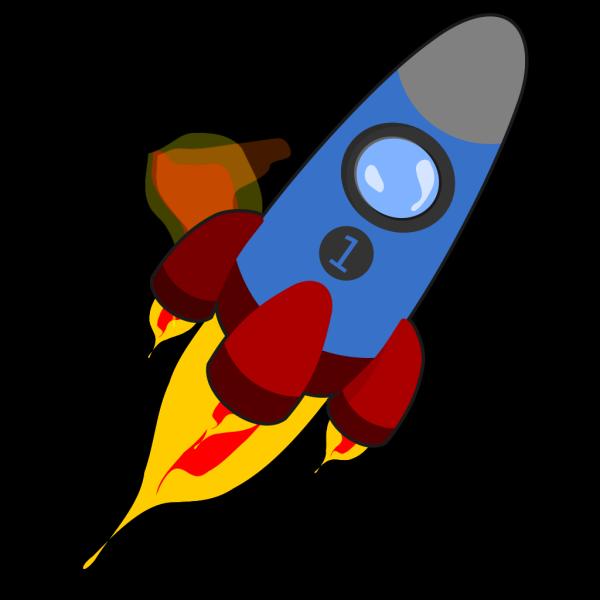 Rocket 7 PNG Clip art