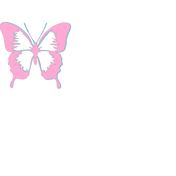 Butterfly Tattoo Style PNG Clip art