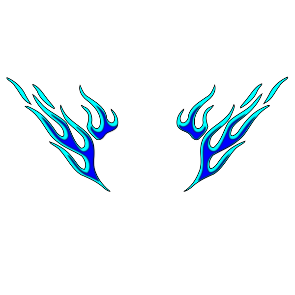 Tribal Butterfly PNG Clip art
