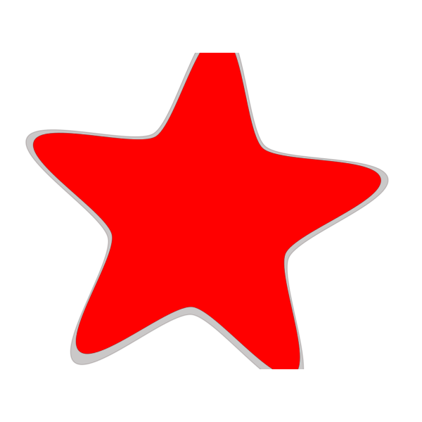 Red Star Blue Wings PNG Clip art