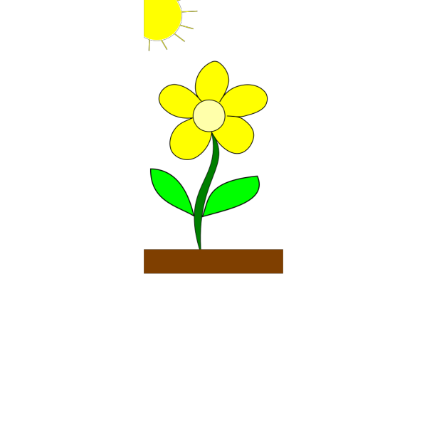 Flower In Sun PNG icon