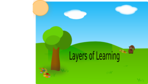Layers Of Learning 1 PNG Clip art